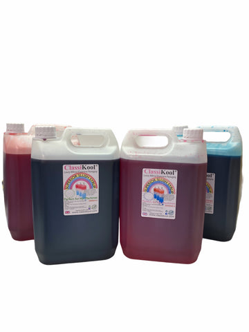 Classikool 4 x 5L Berry Blast Slush Syrup Set Concentrated Flavours & Colours