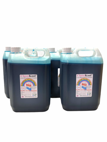 Classikool 4 x 5L Blue Raspberry Professional Slush Puppy Syrup Set