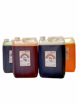 Classikool [Super Sour 4 x 5 Litre / 5000ml] Slush Syrup Set