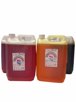 Classikool 4 x 5L Sweet Treats Slush Syrup Set Concentrated Flavours & Colours