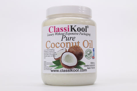 Classikool [Edible Coconut Oil] 100% Pure for Cooking / Skin and Hair Moisturiser