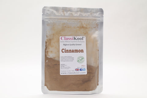Classikool Ground Cinnamon: Premium Quality, Food Grade Cooking / Baking Spice