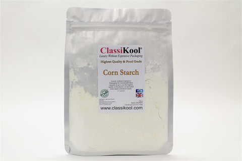 Classikool [Corn Starch] Food Grade Maize Flour for Cooking, Baking & Oobleck