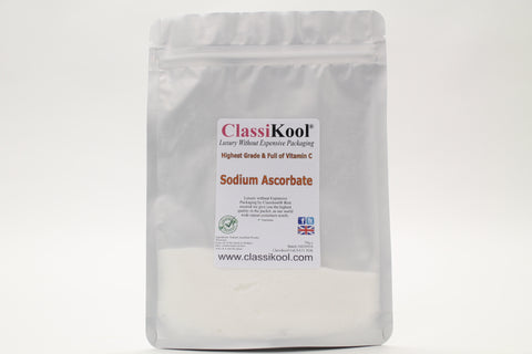 Classikool [Sodium Ascorbate] Food Grade & Nutritional Vitamin C Powder