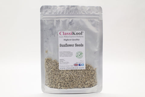 Classikool Hulled Sunflower Seeds: High Quality Seeds for Snacking & Baking