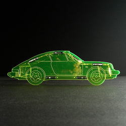 Classikool Acrylic Porsche 911 Sports Car Money Box/Piggy Bank