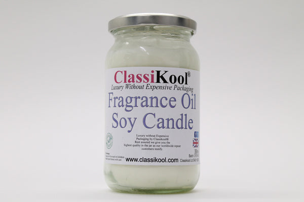 Classikool Soy ECO Candle in Resealable Glass Jar: Choice of Fragrances
