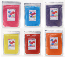 Classikool Instant 250g Candy Floss Bargain Party Set x 10 Super Surprise Flavours