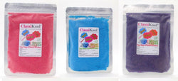 "Classikool x4) 100g ""BERRY BLAST"" Candy Floss Sugar Set"