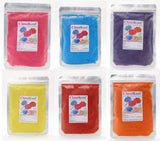 Classikool 1kg Instant Candy Floss Sugar: Choose Flavour & Colour (White, Black, Blue, Brown, Green)