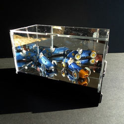 Classikool Mirrored Acrylic Display Box/Case for Models & Minatures