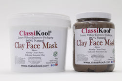 Classikool Bentonite Clay Face Beauty Mask for Detox with Essential Oil Choice