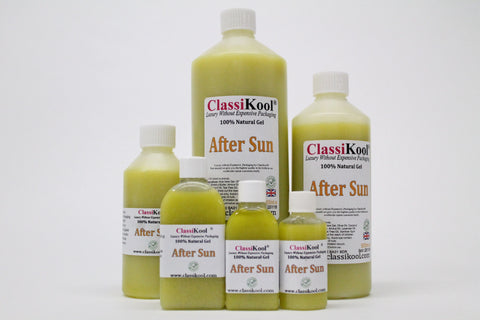 Classikool Natural After Sun Soothing Skin Treatment Gel: Aloe Vera & Coconut Oil Blend