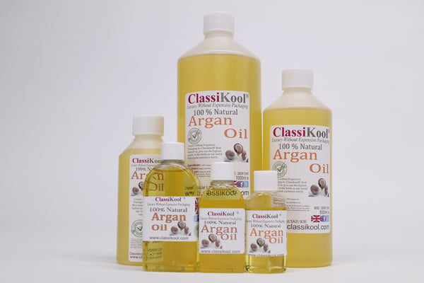 Classikool Moroccan Argan Oil: 100% Pure for Natural Beauty Skin & Hair Care
