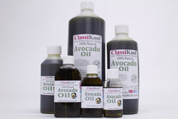 Classikool Avocado Oil: Cold Pressed, Pure, Unrefined for Massage & Aromatherapy