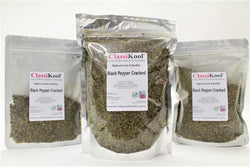 Classikool [Cracked Black Pepper]: Quality Spice Seasoning for Savoury Cooking