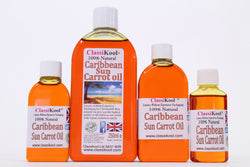 Classikool Caribbean Sun Carrot & Vitamin E Oil for Tanned Skin