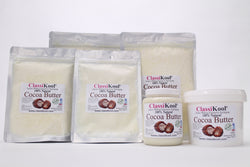 Classikool Cocoa Butter: 100% Pure & Edible for Cooking and Beauty