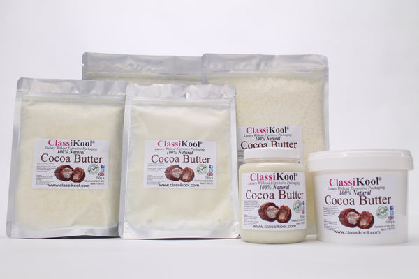 Classikool 100% Pure Edible Cocoa Butter for Cooking and Beauty