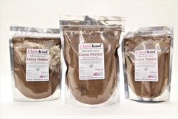 Classikool Organic Cocoa Powder for Hot Chocolate, Smoothies & Baking Cakes