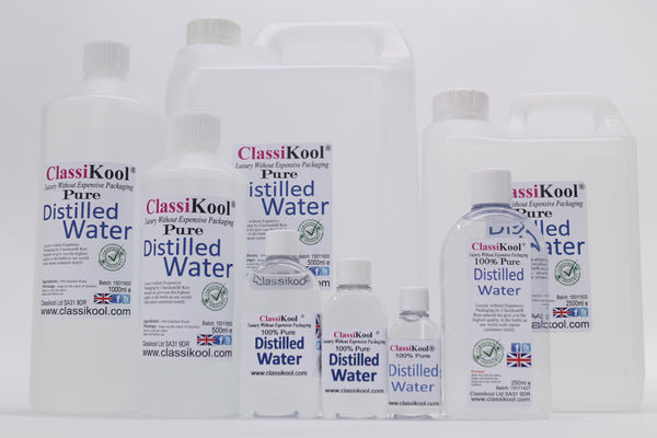 Classikool Pure Distilled Water - De-ionised Then Distilled