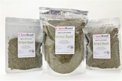 Classikool Dried Basil: Quality Herb for Cooking and Seasoning Pesto, Soups & More