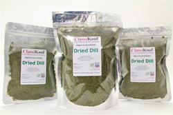 Classikool Dried Dill: A Natural Herb Spice for Flavouring, Pickles & Cooking