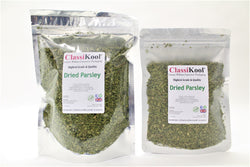 Classikool Dried Parsley: Quality Herb for Cooking & Seasoning Soups, Salads