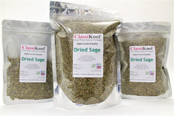 Classikool Dried Sage: Quality Herb Spice for Cooking & Seasoning Stuffing