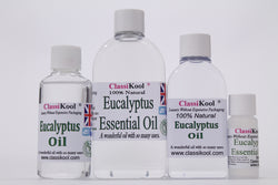 Classikool Eucalyptus Essential Oil: 100% Pure for Aromatherapy and Massage