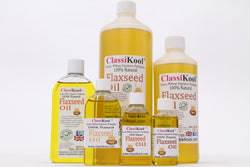 Classikool Pure, Food Grade & Cold Pressed Flaxseed Oil: Rich in Omega 3