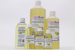 Classikool Pure Grapeseed Oil 100% Perfect As A Carrier Or Massage Oil - Choose from 8 Sizes