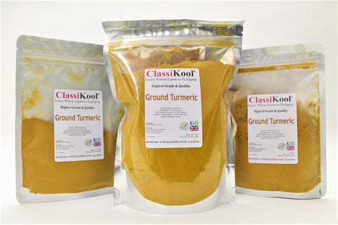 Classikool Ground Turmeric: Quality Spice Seasoning for Cooking Rice & Curry