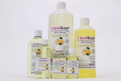 Classikool Pure Lemon Essential Oil for Natural Fragrance Aromatherapy & Massage