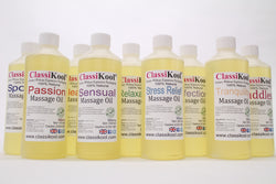 Classikool Massage Oils for Sports, Relaxation, Intimacy & Aromatherapy
