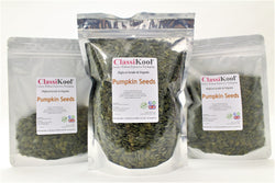 Classikool Organic Pumpkin Seeds: Natural Gluten Free Vegan Snacking & Baking