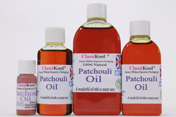 Classikool Patchouli Oil 100% Pure Essential Aromatherapy Massage and Carrier Oil