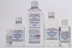 Classikool Peppermint Oil: 100% Pure for Aromatherapy & Massage