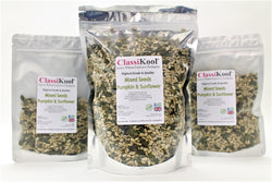 Classikool Mixed Sunflower Hearts & Pumpkin Seeds: for Natural Snacking / Baking