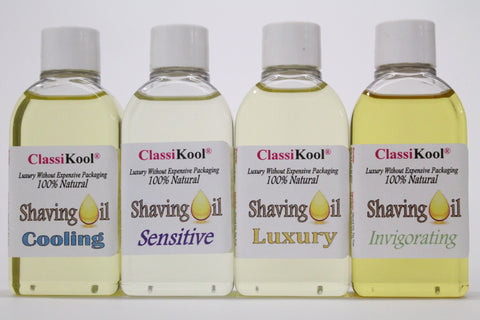 Classikool Natural Unisex Shaving Oil with 100% Pure Essential & Carrier Oils