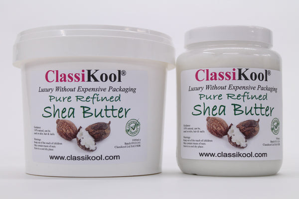 Classikool 100% Pure Shea Nut Butter/ Oil For Hair, Nails & Skin Moisturiser