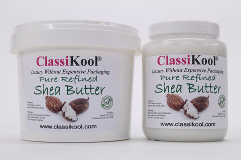Classikool Shea Nut Butter/ Oil: 100% Pure For Hair, Nails & Skin Moisturiser