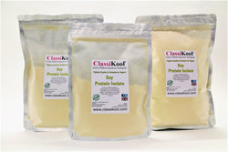 Classikool Soya Protein Isolate: Natural Pure Vegan Cooking & Baking Supplement