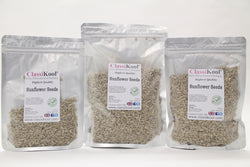 Classikool Hulled Sunflower Seeds: High Quality Seeds for Snacking, Baking & Catering