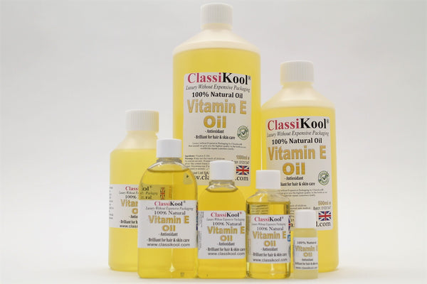 Classikool Pure Vitamin E Carrier Oil for Aromatherapy & Massage