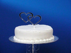 Classikool Mirror Heart Duo Cake Topper 10cm Tall