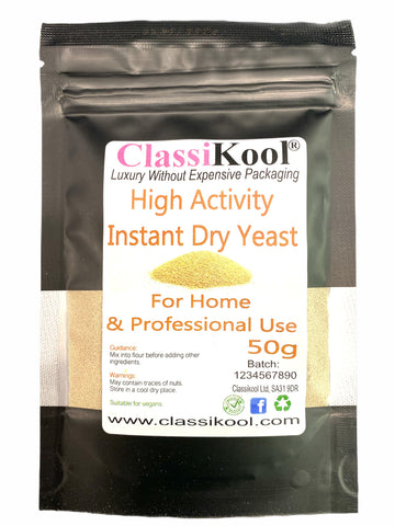 Classikool High Activity Dried Instant Yeast for Homemade & Professional Baking