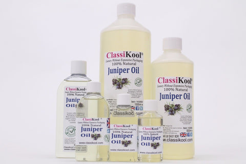 Classikool Juniper Berry Essential Oil: 100% Pure & Natural for Aromatherapy