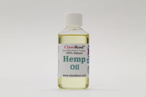 Classikool [Hemp Seed Oil] Pure Essential Virgin Grade for Aromatherapy & Massage