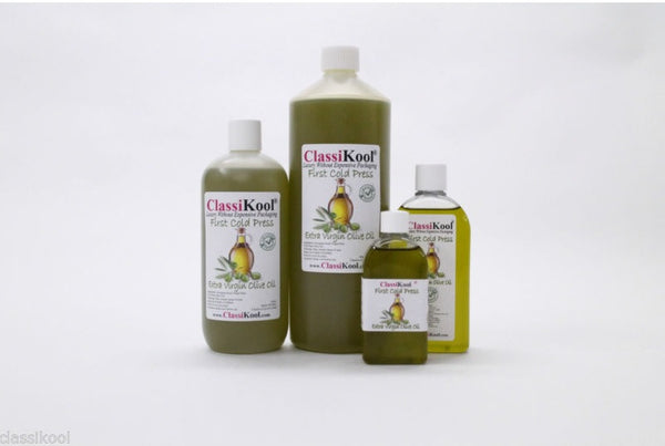 Classikool Pure Extra Virgin Olive Oil Cold Pressed 100% Edible First Pressing